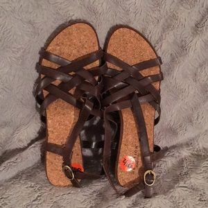 New Reaction by Kenneth Cole wedge sandals